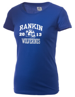 Rankin Intermediate School Wolverines  Russell Women's Campus T-Shirt