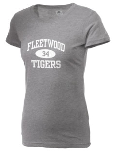 Fleetwood Elementary School Tigers  Russell Women's Campus T-Shirt