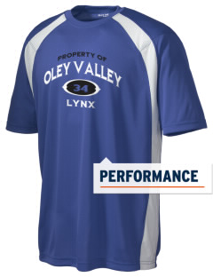 Oley Valley Middle School Lynx Men's Dry Zone Colorblock T-Shirt