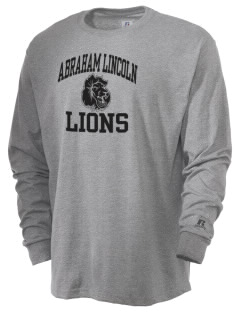 Abraham Lincoln Elementary School Lions  Russell Men's Long Sleeve T-Shirt
