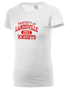 Landisville Intermediate Center Knights  Russell Women's Campus T-Shirt