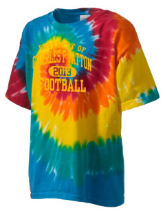 Charles F Patton Middle School Hawks Kid's Tie-Dye T-Shirt