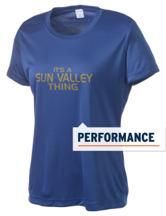 Sun Valley High School Vanguards Women's Competitor Performance T-Shirt