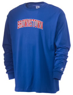 Brownstown Elementary School Buckskins  Russell Men's Long Sleeve T-Shirt