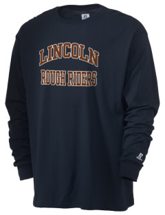 Lincoln Middle School Rough Riders  Russell Men's Long Sleeve T-Shirt