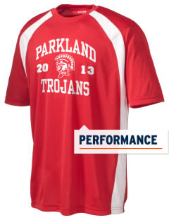 Parkland High School Trojans Men's Dry Zone Colorblock T-Shirt