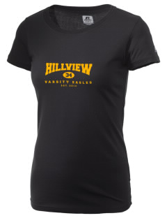 Hillview Intermediate Center Eagles  Russell Women's Campus T-Shirt