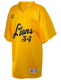 Mazie C Gable Elementary School Lions Russell Kid's Replica Football Jersey
