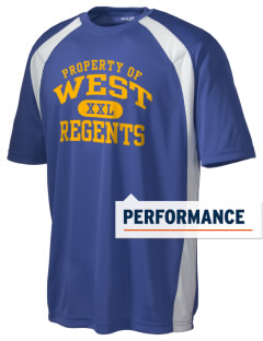 West High School Regents Men's Dry Zone Colorblock T-Shirt