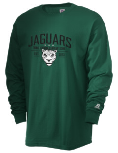 Thomas Jefferson Elementary School Jaguars  Russell Men's Long Sleeve T-Shirt