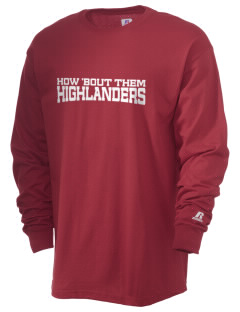 Homestead High School Highlanders  Russell Men's Long Sleeve T-Shirt