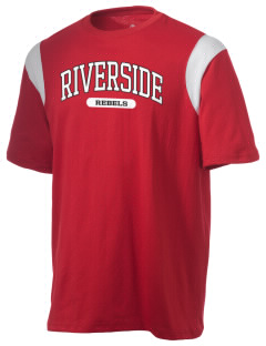 Riverside High School Rebels Holloway Men's Rush T-Shirt