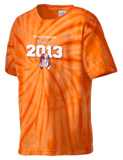 Star Valley High School Braves Kid's Tie-Dye T-Shirt