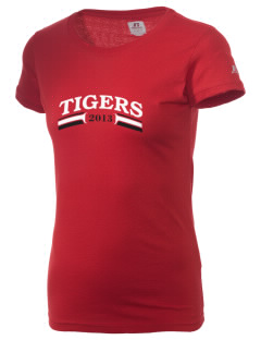 Lusk Elementary Middle School Tigers  Russell Women's Campus T-Shirt