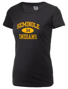 Seminole High School Indians  Russell Women's Campus T-Shirt