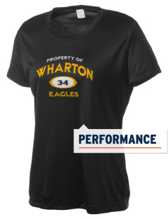 Wharton Elementary School Eagles Women's Competitor Performance T-Shirt