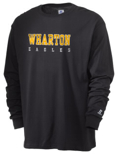 Wharton Elementary School Eagles  Russell Men's Long Sleeve T-Shirt