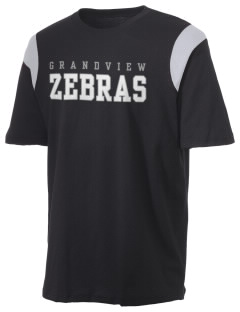 Grandview Elementary School Zebras Holloway Men's Rush T-Shirt