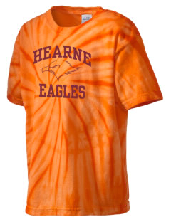 Hearne High School Eagles Kid's Tie-Dye T-Shirt