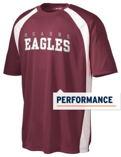 Hearne High School Eagles Men's Dry Zone Colorblock T-Shirt