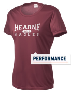 Hearne High School Eagles Women's Competitor Performance T-Shirt
