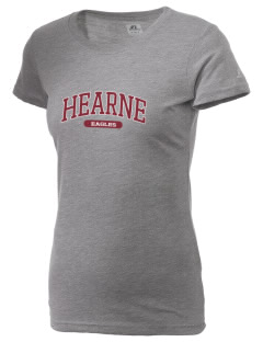 Hearne High School Eagles  Russell Women's Campus T-Shirt
