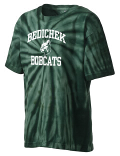 Bedichek Middle School Bobcats Kid's Tie-Dye T-Shirt