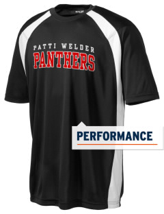 Patti Welder Middle School Panthers Men's Dry Zone Colorblock T-Shirt
