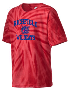 Richfield High School Wildcats Kid's Tie-Dye T-Shirt
