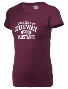 Dugway High School Mustangs  Russell Women's Campus T-Shirt