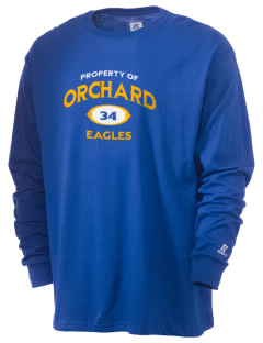 Orchard Elementary School Eagles  Russell Men's Long Sleeve T-Shirt