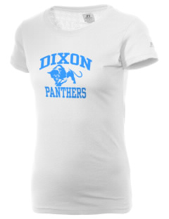 Dixon Middle School Panthers  Russell Women's Campus T-Shirt