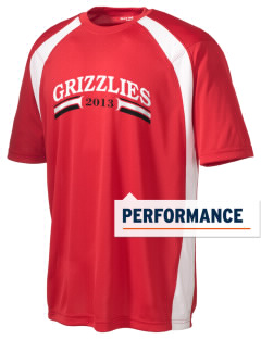 Grandview Elementary School Grizzlies Men's Dry Zone Colorblock T-Shirt