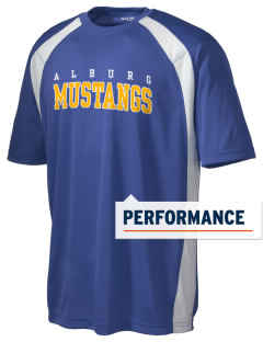 Alburg Community Education Center Mustangs Men's Dry Zone Colorblock T-Shirt
