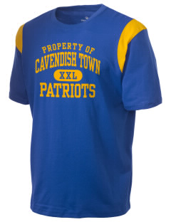 Cavendish Town Elementary School Patriots Holloway Men's Rush T-Shirt