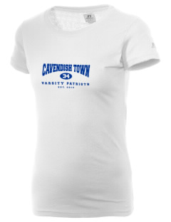Cavendish Town Elementary School Patriots  Russell Women's Campus T-Shirt