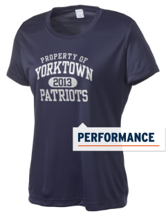 Yorktown High School Patriots Women's Competitor Performance T-Shirt