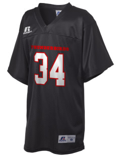 Hiawatha Elementary School Thunderbirds Russell Kid's Replica Football Jersey