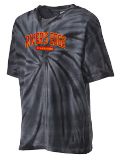 River's Edge High School Firebirds Kid's Tie-Dye T-Shirt