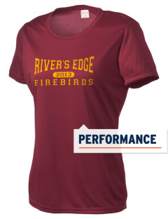 River's Edge High School Firebirds Women's Competitor Performance T-Shirt