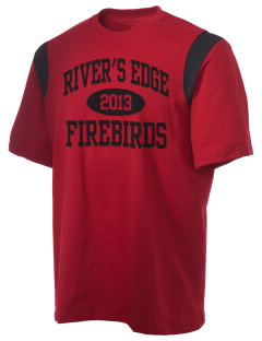 River's Edge High School Firebirds Holloway Men's Rush T-Shirt