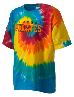 Pomeroy Elementary School Pirates Kid's Tie-Dye T-Shirt