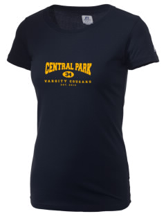 Central Park Elementary School Cougars  Russell Women's Campus T-Shirt