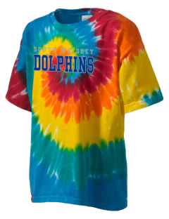 South Whidbey Intermediate School Dolphins Kid's Tie-Dye T-Shirt