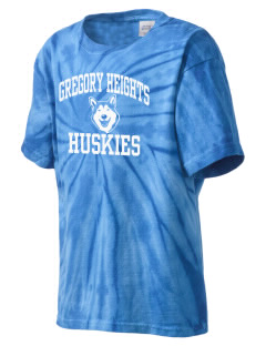 Gregory Heights Elementary School Huskies Kid's Tie-Dye T-Shirt