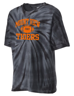 Mount View Elementary School Tigers Kid's Tie-Dye T-Shirt