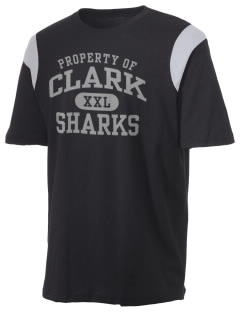Clark Elementary School Sharks Holloway Men's Rush T-Shirt