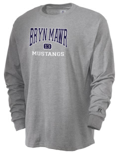 Bryn Mawr Elementary School Mustangs  Russell Men's Long Sleeve T-Shirt