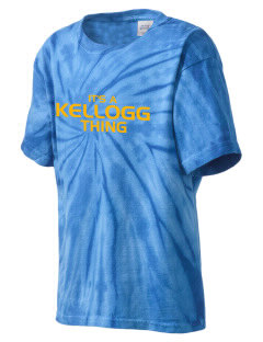 Kellogg Middle School Knights Kid's Tie-Dye T-Shirt