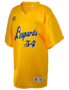 Lockwood Elementary School Leopards Russell Kid's Replica Football Jersey